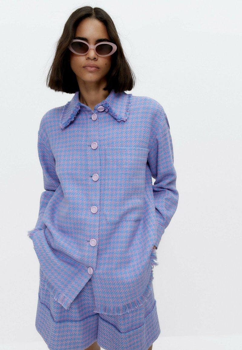 Uterqüe - Summer jacket - lilac