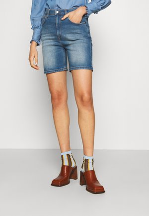 COTHERSTONE - Jeansshort - mid wash