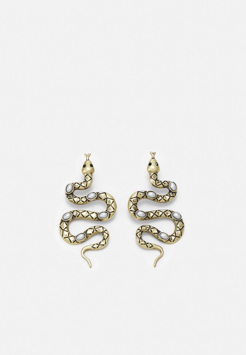 Pieces - PCVINNI EARRINGS - Earrings - gold coloured