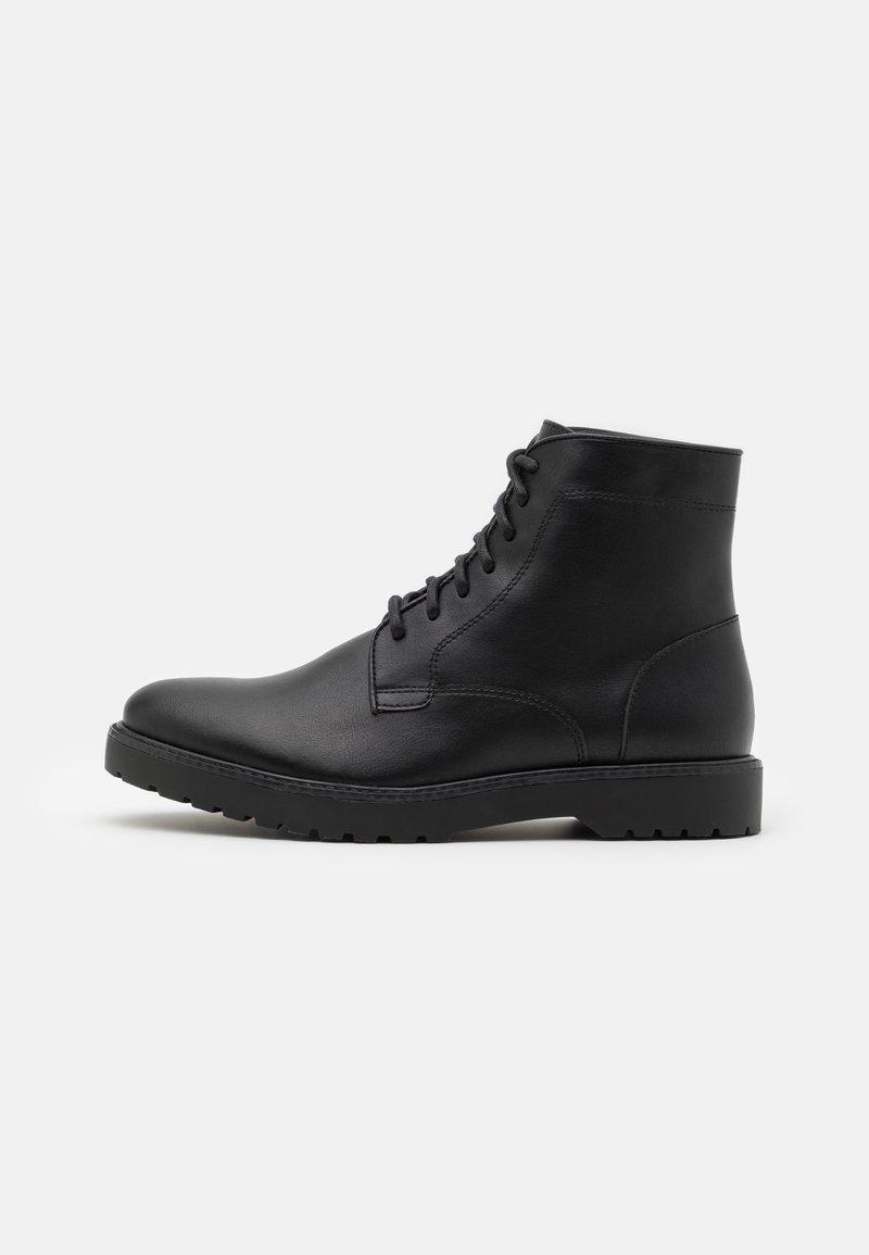 Zign - UNISEX - Lace-up ankle boots - black