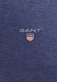 GANT - THE ORIGINAL RUGGER - Piké - dark jeansblue melange - 4
