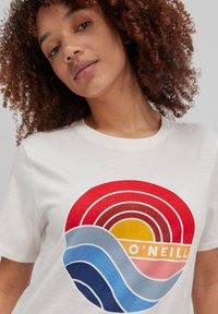 O'Neill - SUNRISE - Print T-shirt - powder white - 1