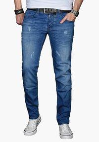 Alessandro Salvarini - Slim fit jeans - blau - 0