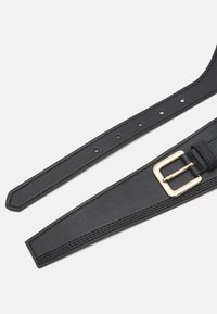 Pieces - PCGLORINNA WAIST BELT - Midjebelte - black/gold - 2