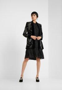 Bruuns Bazaar - ROSALEEN CAMARI DRESS - Cocktail dress / Party dress - black - 1