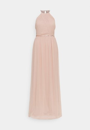 HEAVENLY BEADED GOWN - Iltapuku - dusty pink