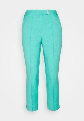 Spodnie materiałowe - aqua