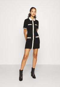 maje - RAVENY - Jumper dress - noir - 1