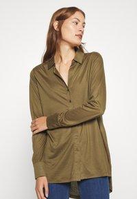 Lounge Nine - Button-down blouse - beech - 3