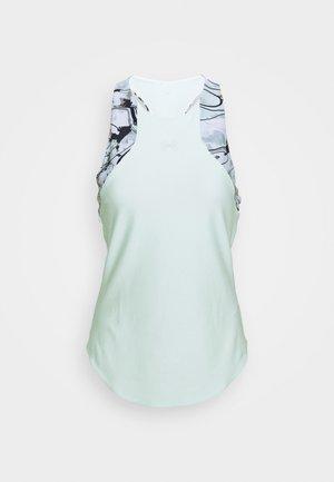 SPORT PRINT 2IN1 TANK - Koszulka sportowa - seaglass blue
