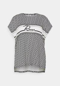 River Island Plus - Print T-shirt - navy - 3