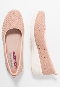 Skechers - ARYA - Baleríny - rose metallic/offwhite/rose gold - 3