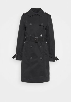 ESSENTIAL  - Trenchcoat - black