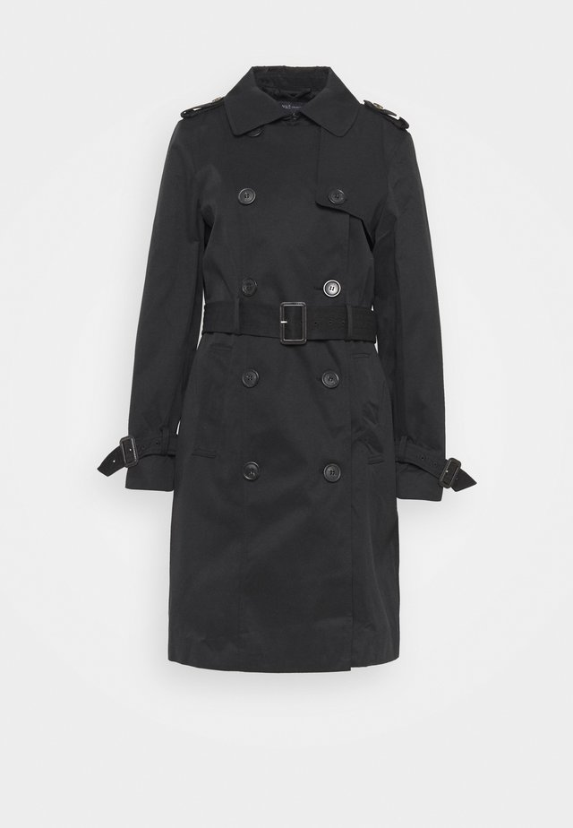 ESSENTIAL  - Trenchcoat - black