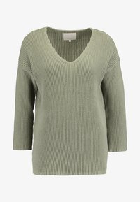 Part Two - PETRONAS - Strickpullover - vetiver - 3