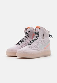 Nike Sportswear - AIR FORCE 1 - Zapatillas altas - platinum violet/metallic silver/hyper crimson/seaweed - 2