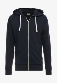 Jack & Jones - JJEHOLMEN - Sweatjacke - navy blazer - 4