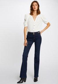 Morgan - ORNAMENTS - Bootcut jeans - blue denim - 1