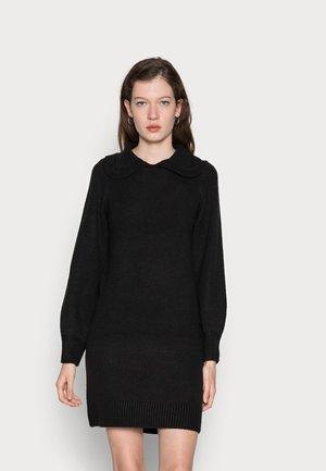 ONLLEXA COLLAR DRESS - Jumper dress - black