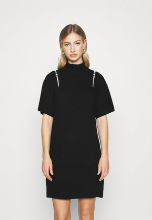 DIMI DRESS - Vestido de punto - black