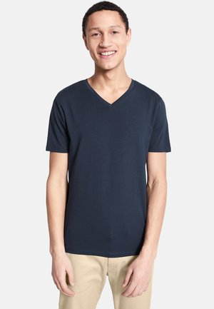 SUPIMA  - T-shirt - bas - navy blue