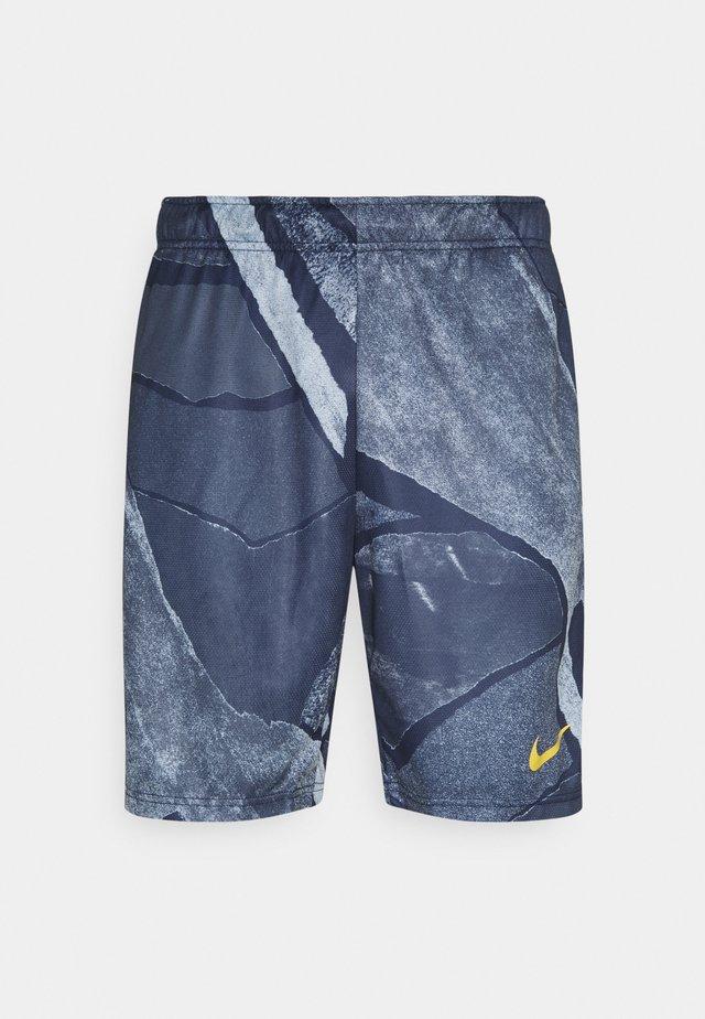 DRY SHORT - Sports shorts - light armory blue/solar flare