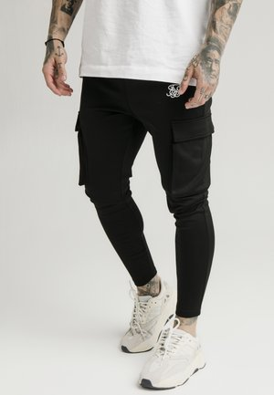 ATHLETE CARGO PANTS - Bojówki - black