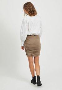 Object - Mini skirt - fossil - 2