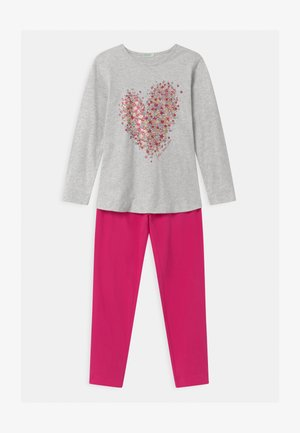 LUTK FASHION  - Pyjama set - mottled light grey