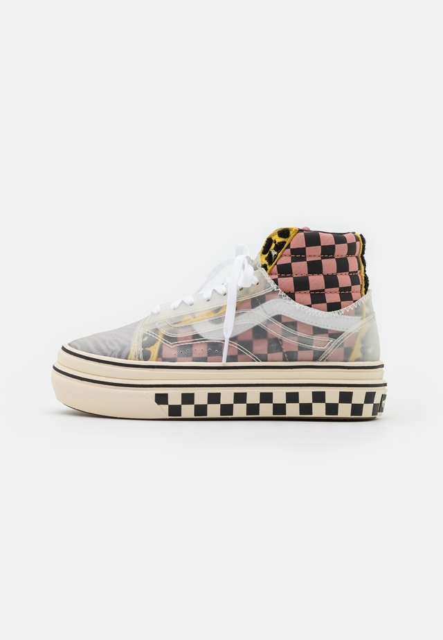 SUPER COMFYCUSH SK8 SKOOL - Sneakers hoog - multicolor/antique