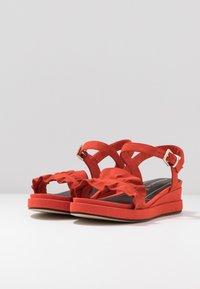 Tamaris - Platform sandals - flame - 4