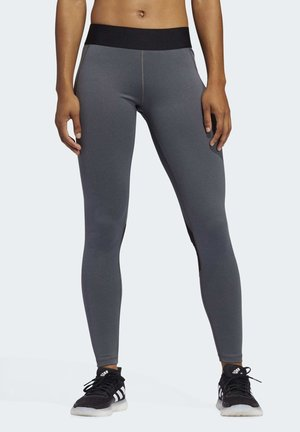 ALPHASKIN LONG LEGGINGS - Leggings - grey