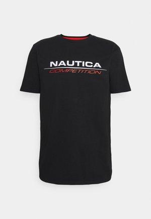 VANG - Print T-shirt - black