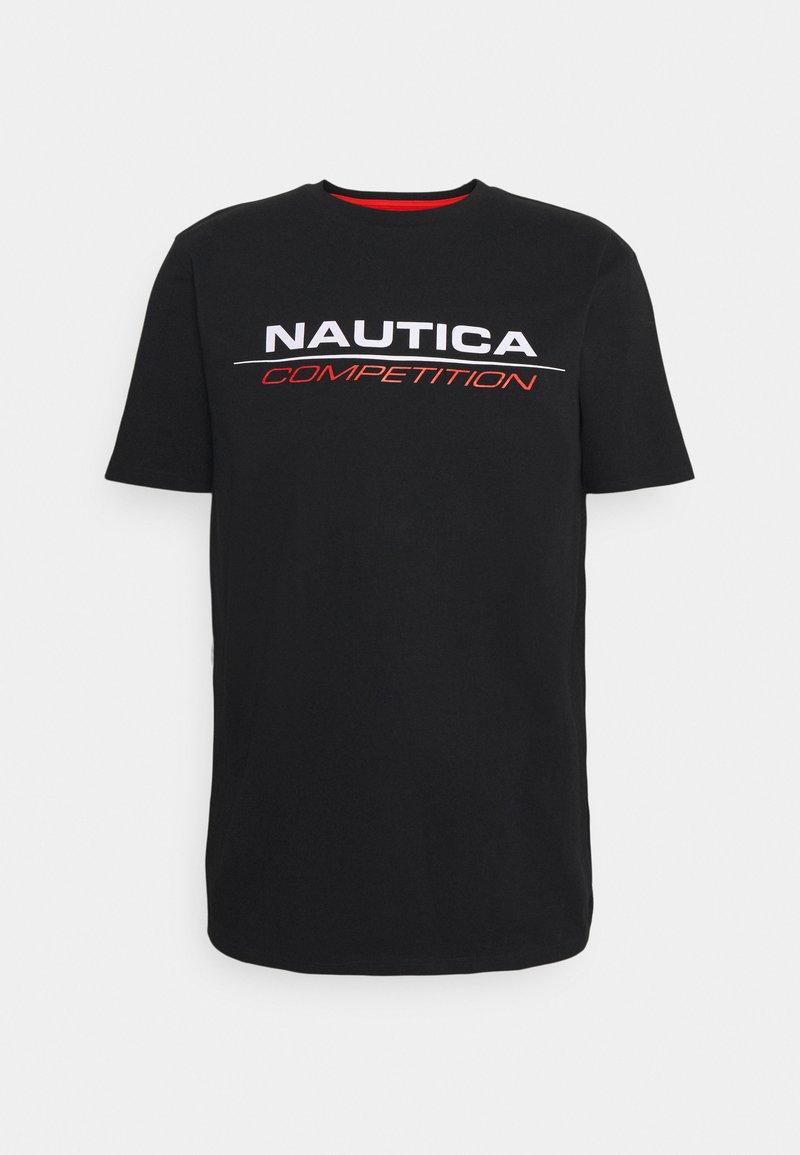 NAUTICA COMPETITION - VANG - Print T-shirt - black