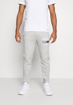 GRAPHIC PANT CUFFED - Tracksuit bottoms - grey