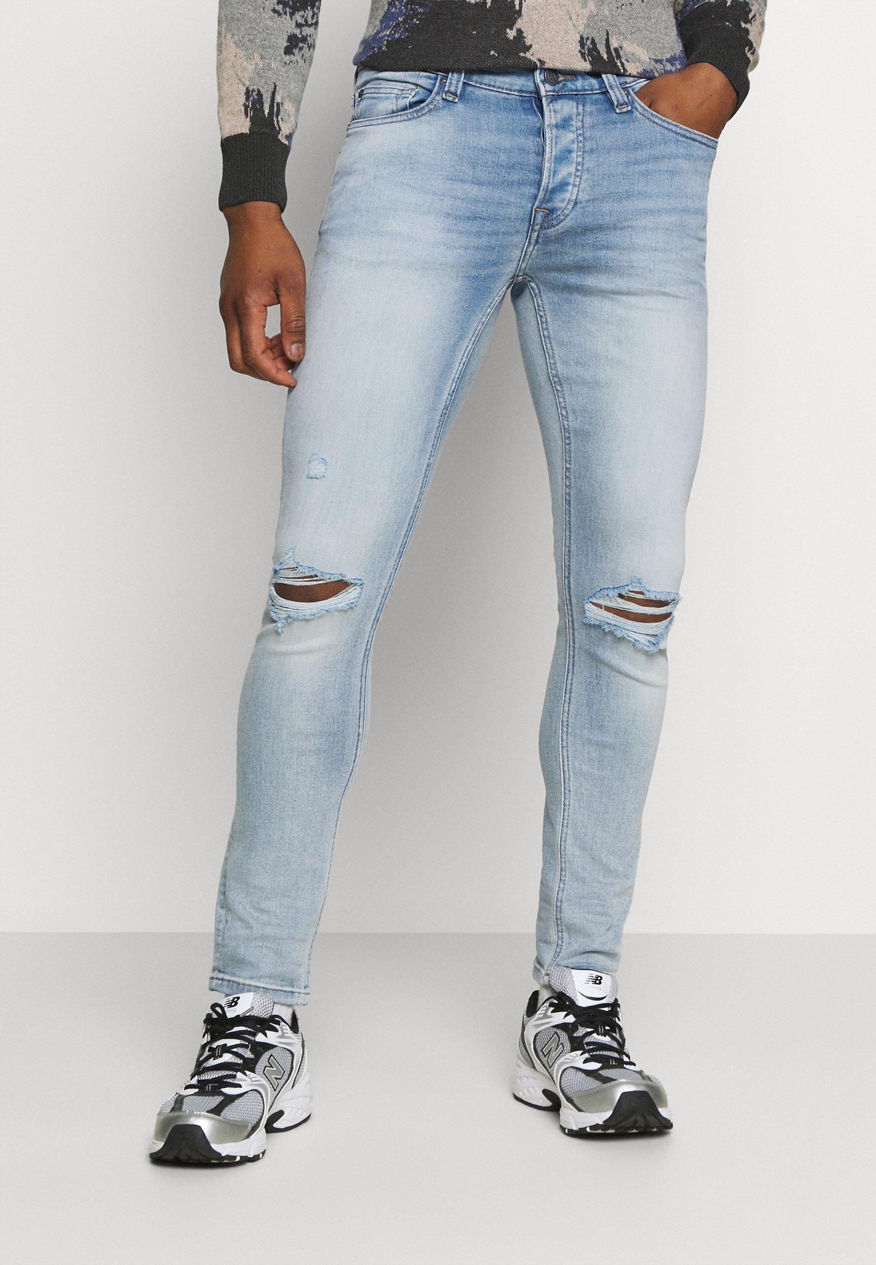 Men ONSLOOM LIFE SLIM DESTROY - Slim fit jeans