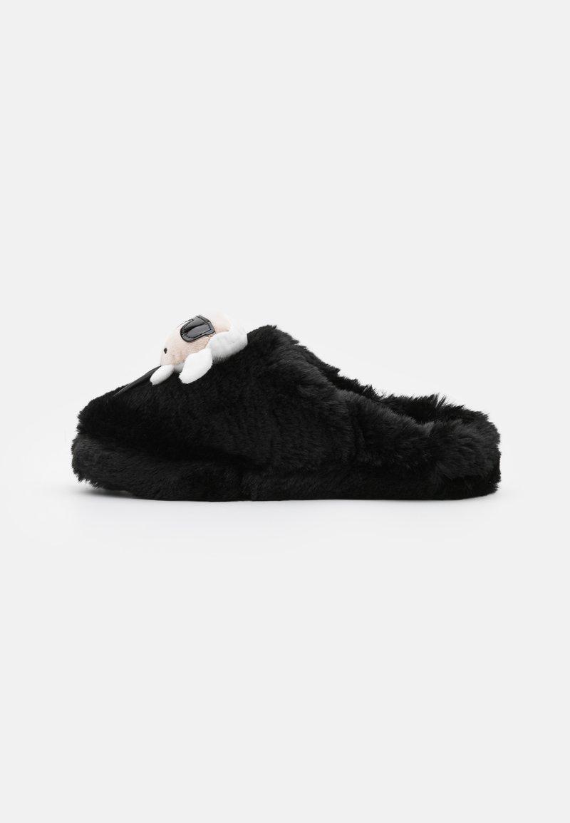 KARL LAGERFELD - KASA - Domácí obuv - black