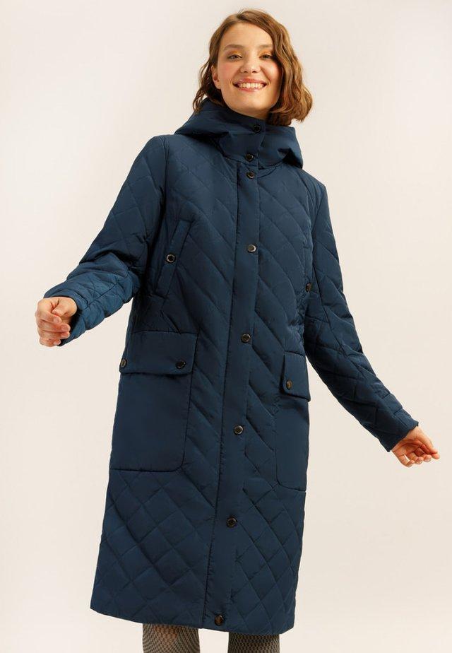 MIT GERADEM SCHNITT - Winter coat - dark blue