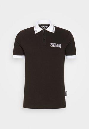 PLAIN - Koszulka polo - nero