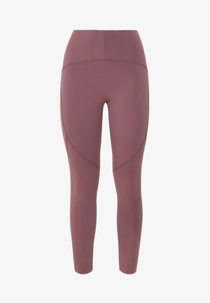 COMPRESSION LEGGINGS - Tights - bordeaux