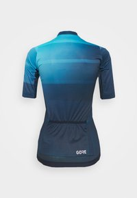 Gore Wear - WEAR FORCE WOMENS - T-Shirt print - scuba blue/orbit blue - 1