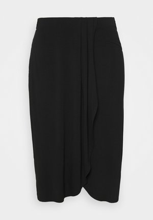PCNEORA  SKIRT - Pencil skirt - black