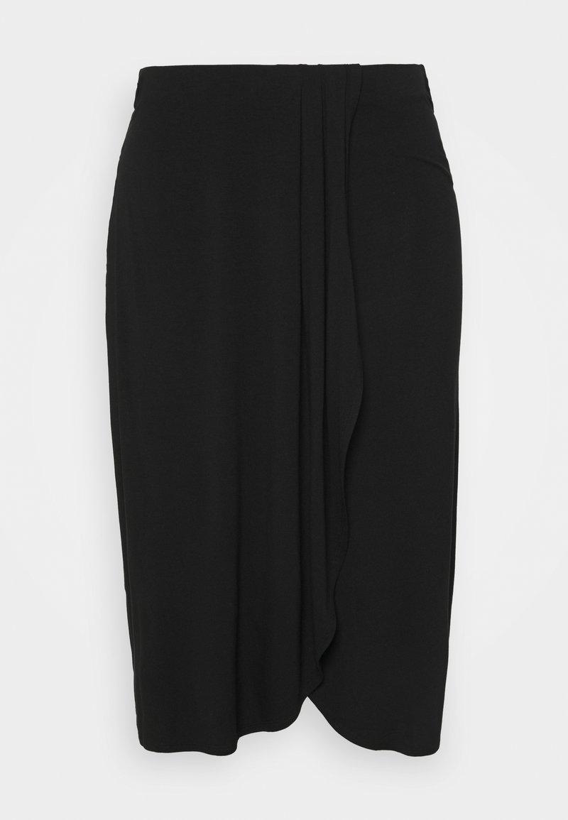 Pieces Curve - PCNEORA  SKIRT - Pencil skirt - black