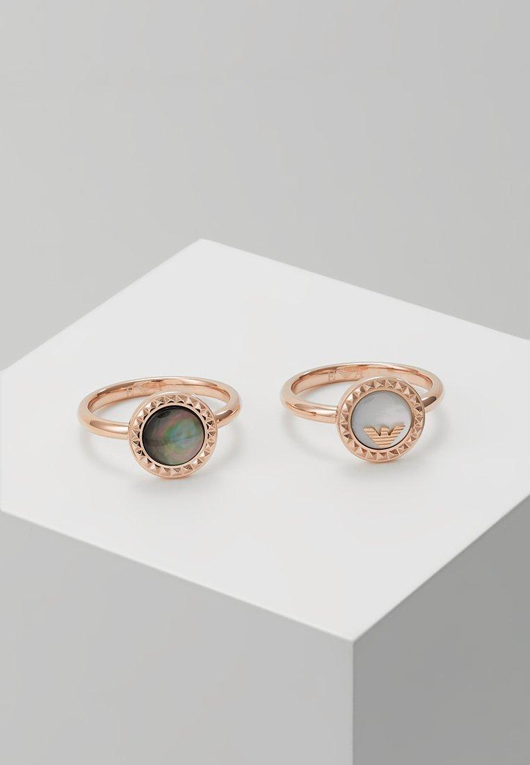 Emporio Armani - Ring - roségold-coloured
