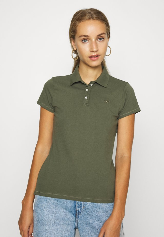 SHORT SLEEVE CORE - Koszulka polo - olive