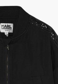 KARL LAGERFELD - Chaquetas bomber - black - 3