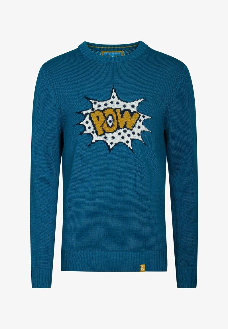 Colours & Sons Sweatshirt - grün ZlJotk