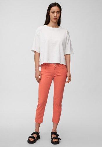 Slim fit jeans - burnt orange
