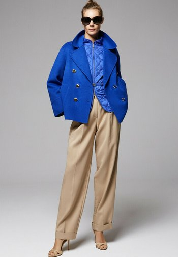 Manteau court - royal blu