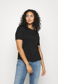 CAPSULE by Simply Be - 3 PACK - T-shirts - black/white/grey - 4